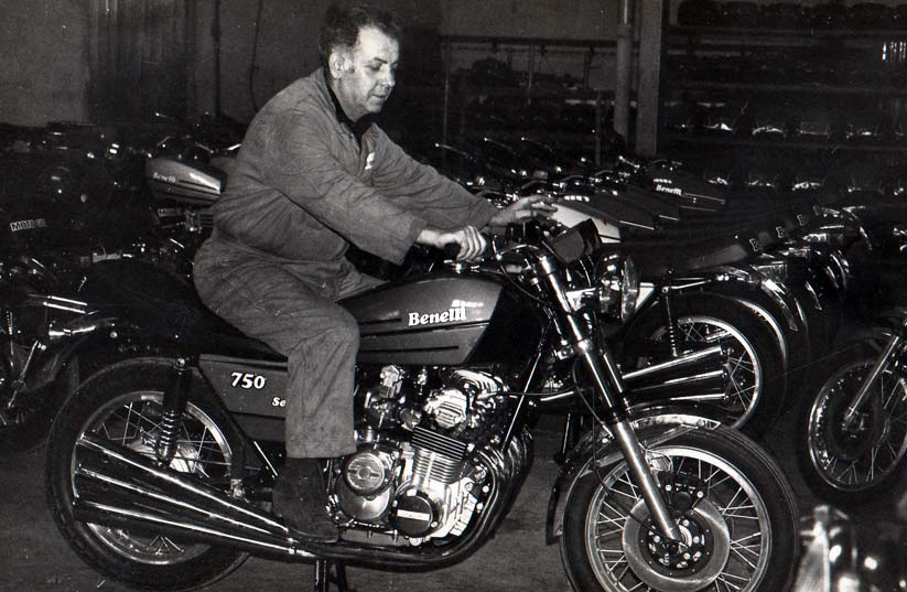ベネリ オートバイの歴史
